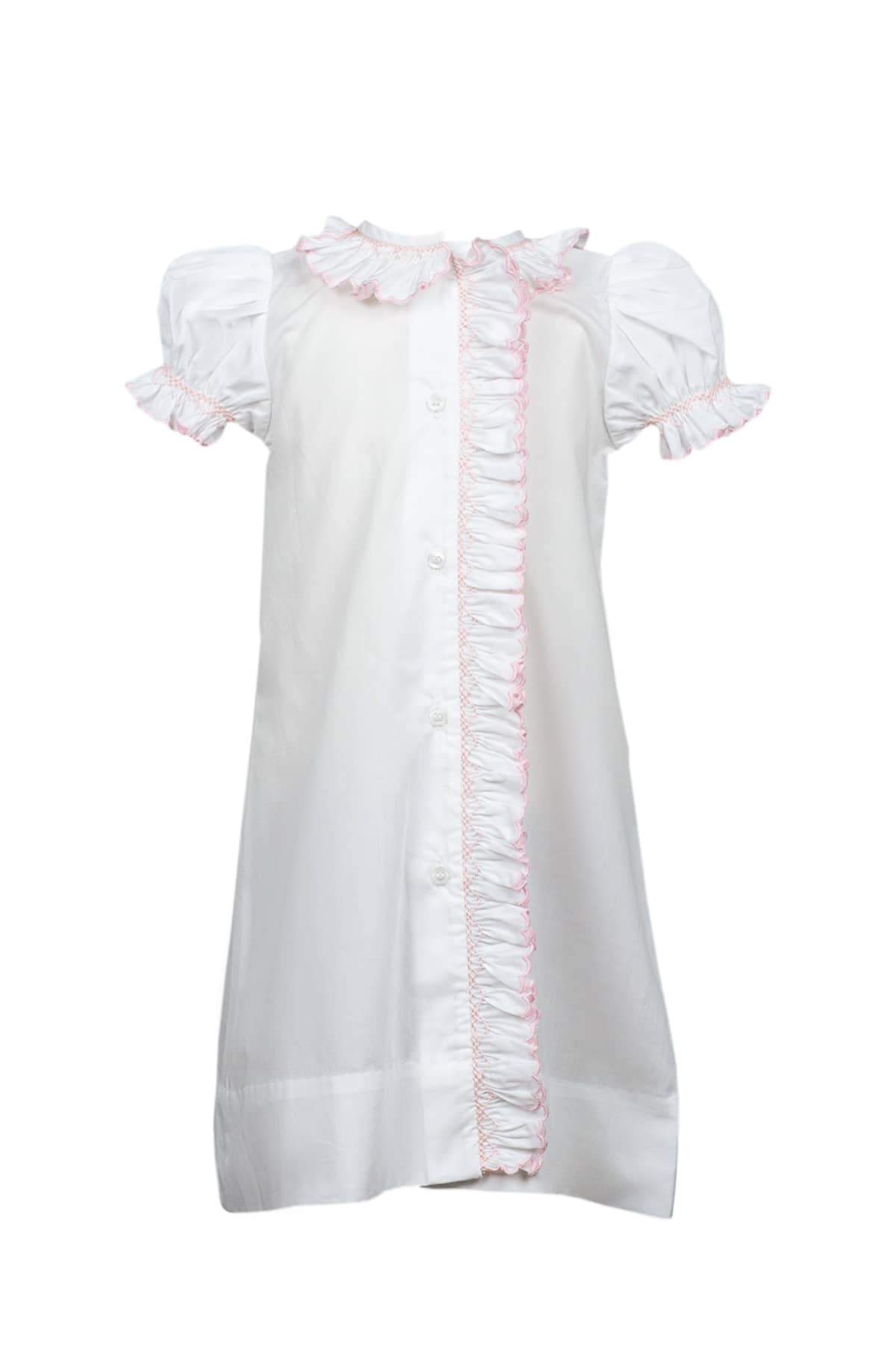 SMOCKED LAYETTE GOWN