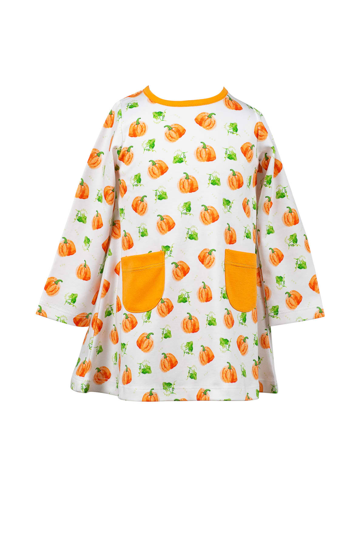 PARKER PUMPKIN ALINE DRESS